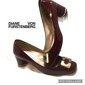 Diane von Furstenberg Bonnie pumps size 8 1/2